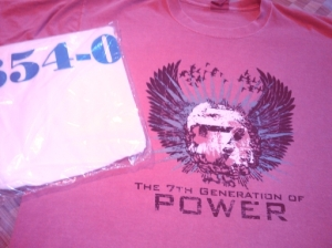 My Power 7 and VM/ESA t-shirts