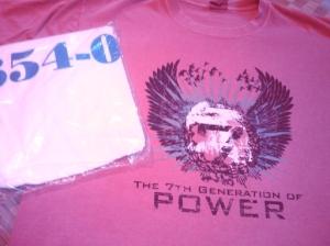 My Power 7 and VM/ESA t-shirts