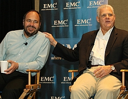 Tucci and Maritz at EMC World 2009